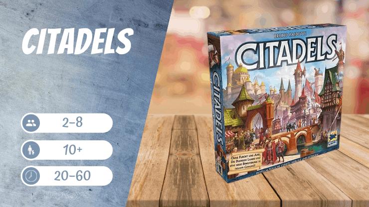 Citadels Brettspiel