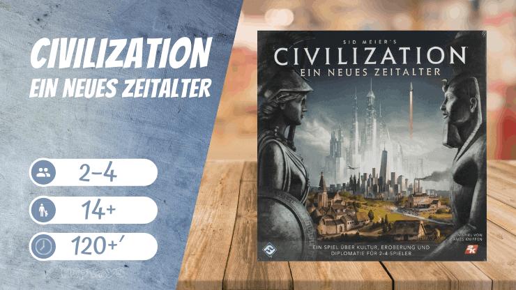 Civilization - Ein neues Zeitalter Brettspiel