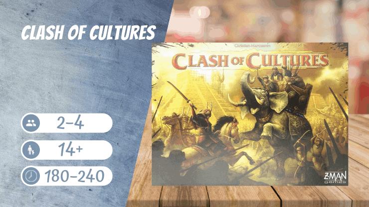 Clash of Cultures Brettspiel