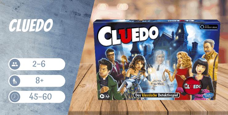 Cluedo Brettspiel ab 8 Jahren