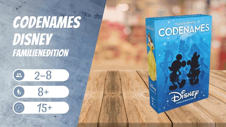 Codenames Disney Familienedition Brettspiel