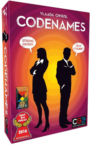 Codenames Duell (Spiel des Jahres 2016) - Spiele Party