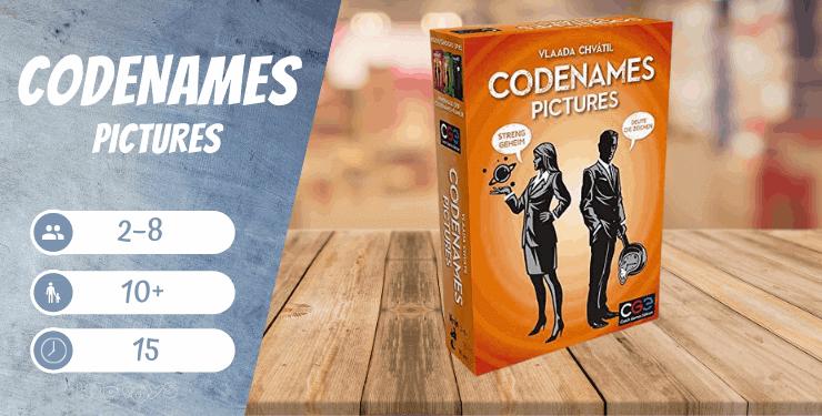 Codenames Pictures Familien-Spiel
