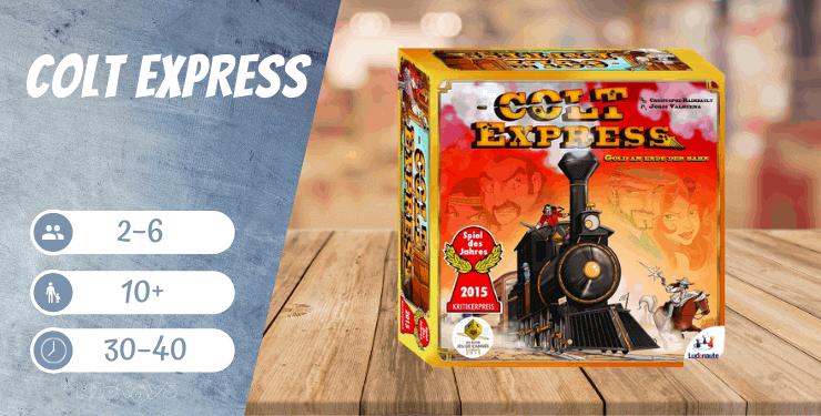 Colt Express - Spiel des Jahres 2015
