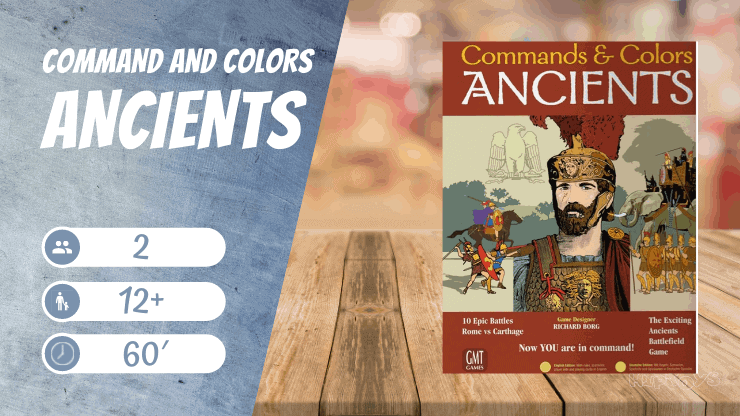 Command and Colors Ancients Brettspiel