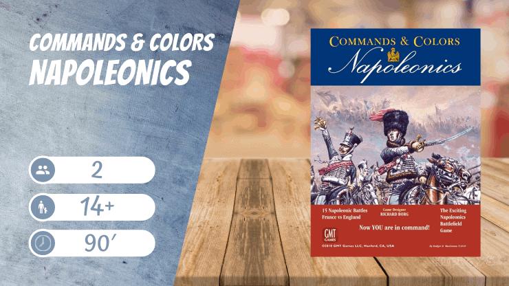 Commands & Colors Napoleonics Brettspiel