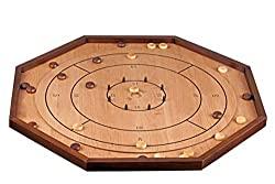 Brettspiele für zwei - Crokinole - Hiptoys