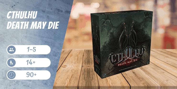 Cthulhu Death May Die Brettspiel