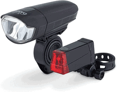 DANSI LED Fahrrad-Batterieleuchtenset, StVZO