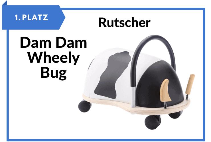 Dam - Dam - Wheely Bug - Rutschfahrzeug für Kinder