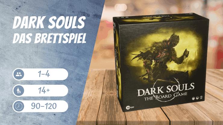 Dark Souls Das Fantasy Brettspiel für 1 Spieler