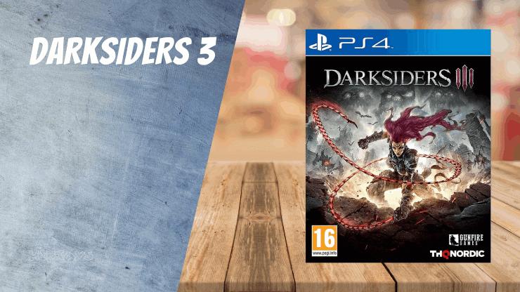 Darksiders 3 - PS4 Spiele ähnlich wie Uncharted