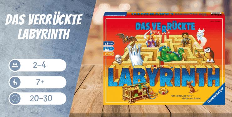 Das verrückte Labyrinth Brettspiel