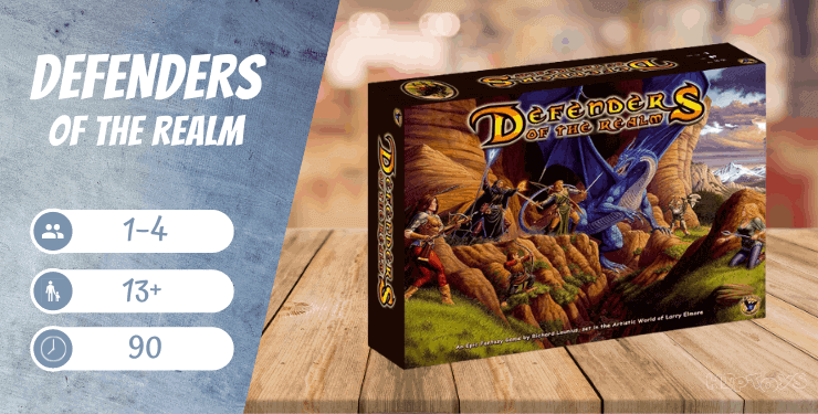 Defenders of The Realm Brettspiel