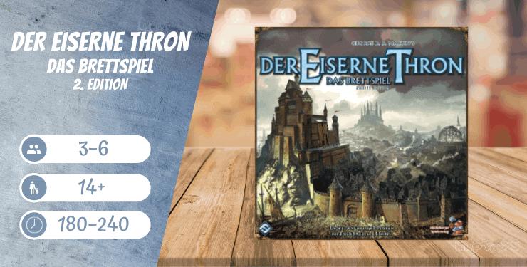 Der Eiserne Thron Das Brettspiel 2. Edition