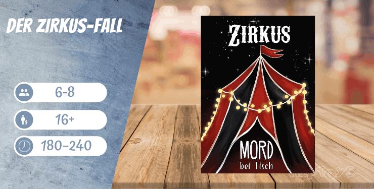 Der Zirkus-Fall - Spiel-Empfehlung