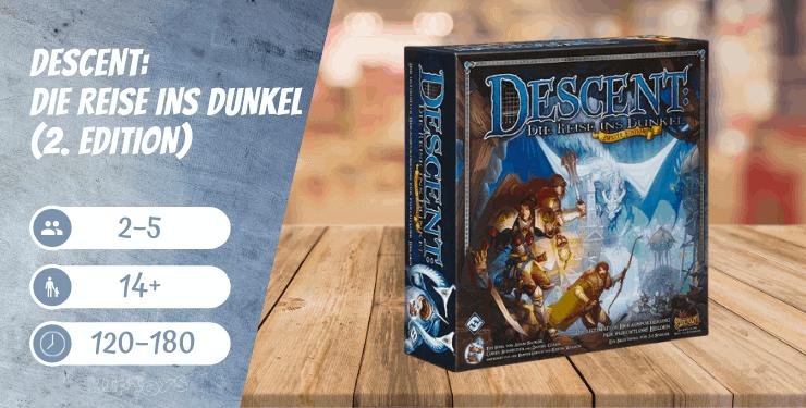 Descent Die Reise ins Dunkel (2. Edition) Spiel-Empfehlung