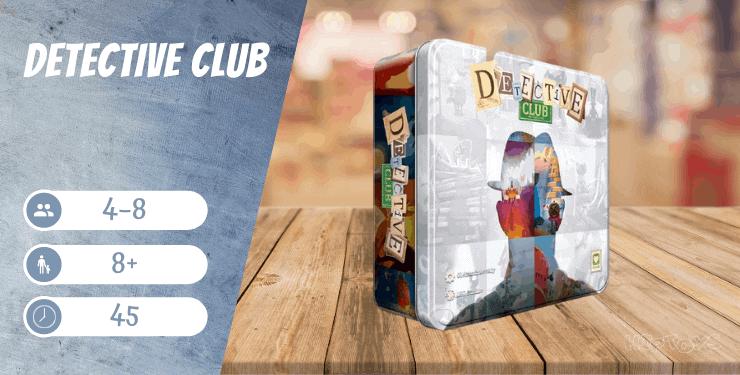 Detective Club Spiel