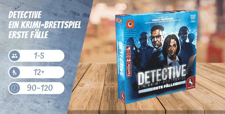 Detective Ein Krimi-Brettspiel – Erste Fälle Spiel-Empfehlung