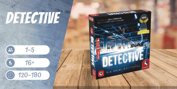 Detective Spiel für Erwachsene