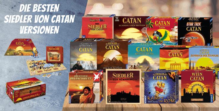 Die 11 besten Siedler von Catan Versionen & Varianten [2021 Ratgeber]