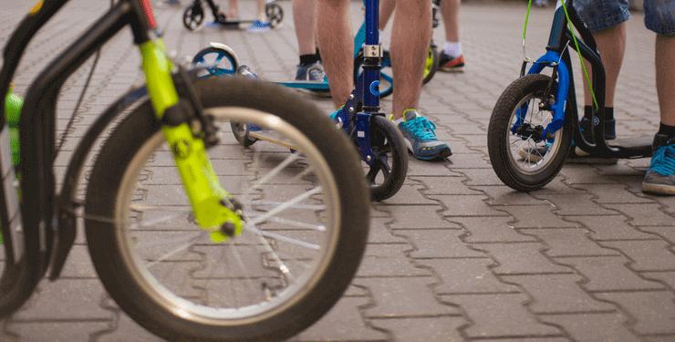 Die 5 besten Roller mit Luftreifen für Kinder