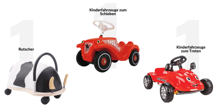 Die 9 besten Kinderfahrzeuge für drinnen (Indoor)