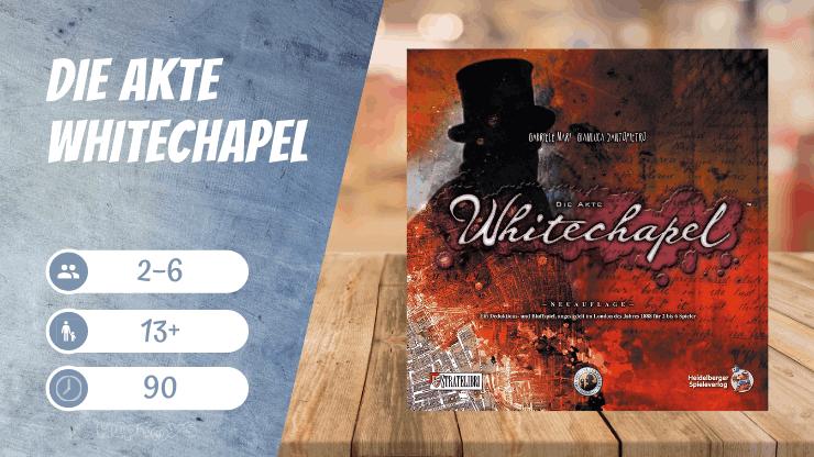 Die Akte Whitechapel Spiel