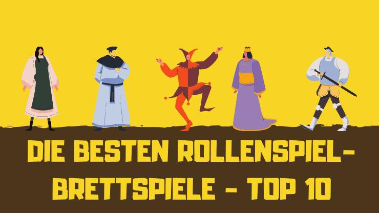 Die BESTEN Rollenspiel-Brettspiele Top 10 Überblick