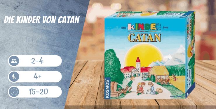Die Kinder von Catan Spiel