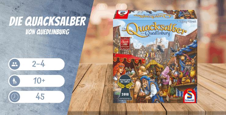 Die Quacksalber von Quedlinburg Spiel