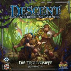 Die Trollsümpfe Erweiterung - Descent: Die Reise ins Dunkel (2. Edition)