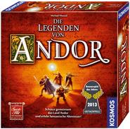 Die besten Brettspiele für Kinder ab 10 Jahren - Die Legenden von Andor