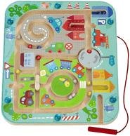 Die besten Brettspiele für Kinder ab 2 Jahre - Magnetspiel Stadtlabyrinth