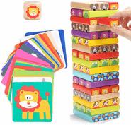 Die besten Brettspiele für Kinder ab 3 Jahren - Wackelturm