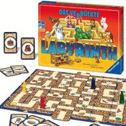 Die besten Brettspiele für Kinder ab 7 Jahren - Das verrückte Labyrinth