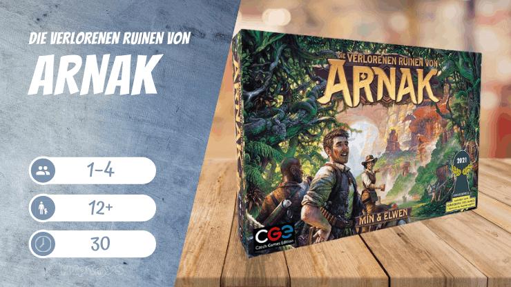Die verlorenen Ruinen von Arnak Spiel