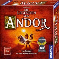 kooperative Brettspiele - Die Legenden von Andor - Hiptoy