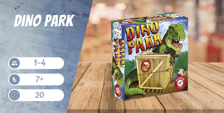 Dino Park Legespiel