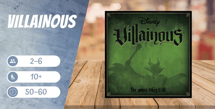 Disney Villainous Spiel