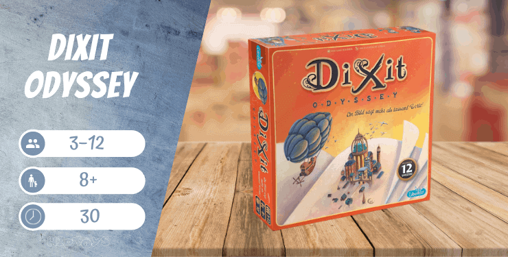 Dixit Odyssey Brettspiel
