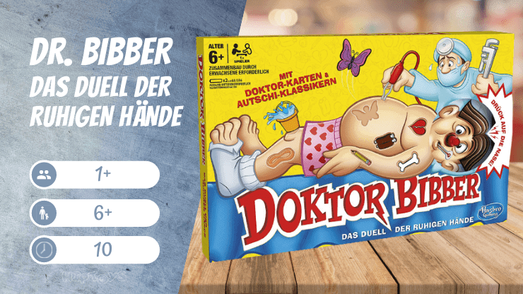 Dr. Bibber Das Duell Der Ruhigen Hände Spiel