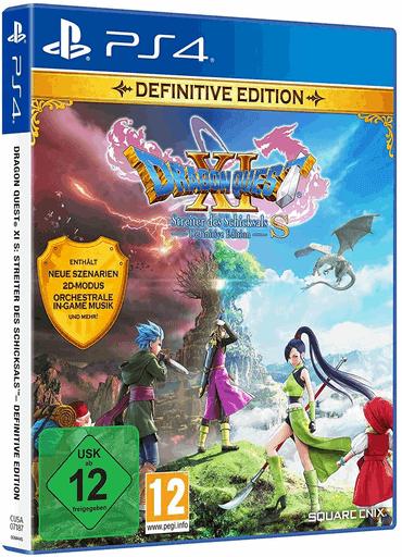 Dragon Quest XI S Streiter des Schicksals - PlayStation 4 Spiele für 12-jährige