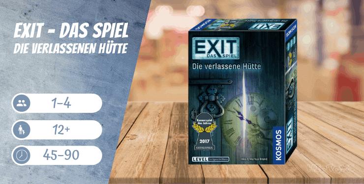 EXIT – Die verlassene Hütte - Das Spiel
