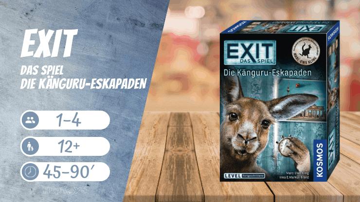 EXIT Das Spiel - Die Känguru-Eskapaden Brettspiel