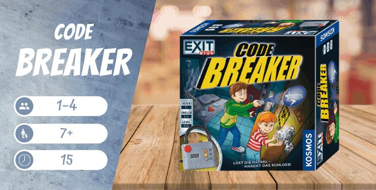 EXIT Kids-Code Breaker Löst die Rätsel-knackt das Schloss Brettspiel