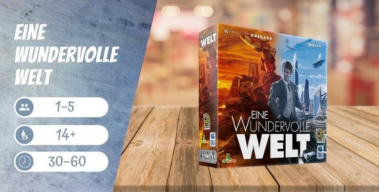Eine wundervolle Welt Brettspiel