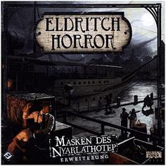 Eldritch Horror Masken des Nyarlathotep Erweiterung