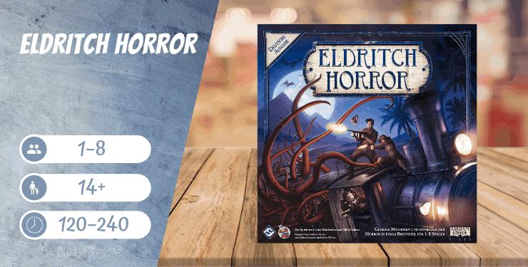 Eldritch Horror Spiel-Empfehlung