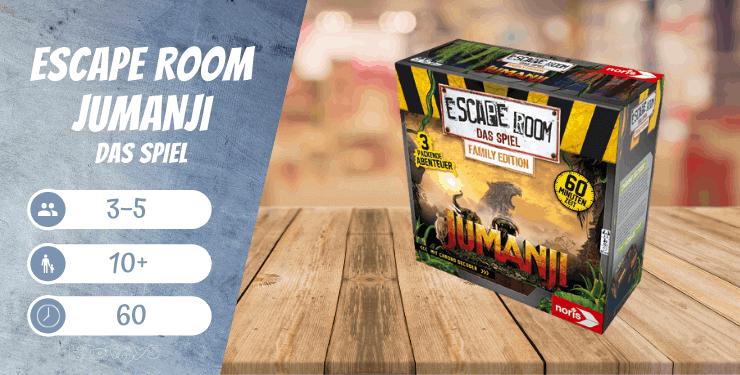 Escape Room Jumanji - Das Spiel
